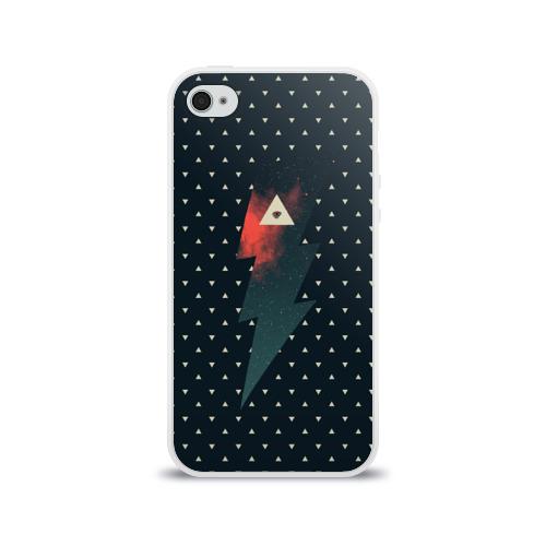 Чехол для Apple iPhone 4/4S силиконовый глянцевый Dark Force Фото 01