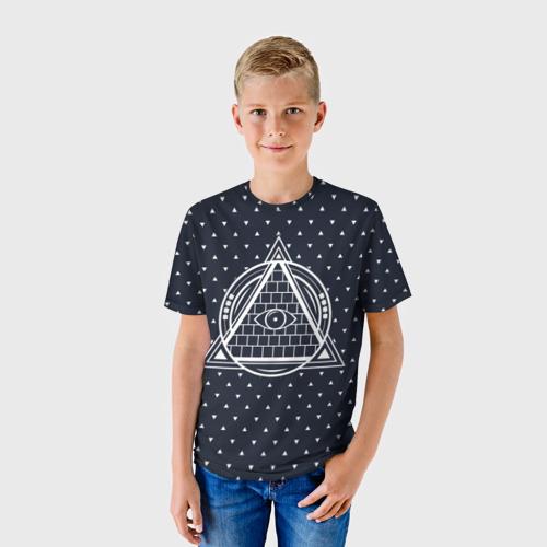 Детская футболка 3D  Фото 01, Illuminati