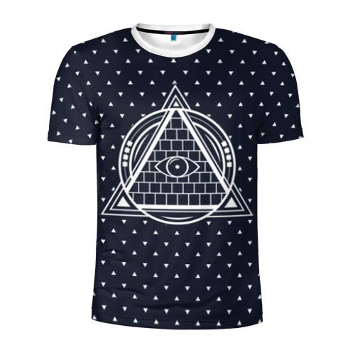 Мужская футболка 3D спортивная Illuminati