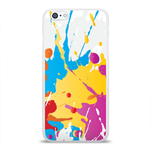 Чехол для Apple iPhone 6Plus/6SPlus силиконовый глянцевый  Фото 01, Краска