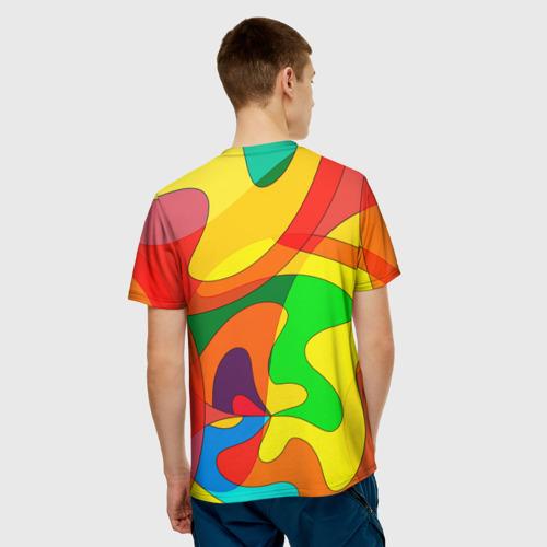 Мужская футболка 3D  Фото 02, Абстракция