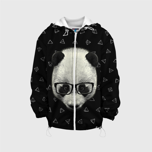 Детская куртка 3D  Фото 01, Умная панда