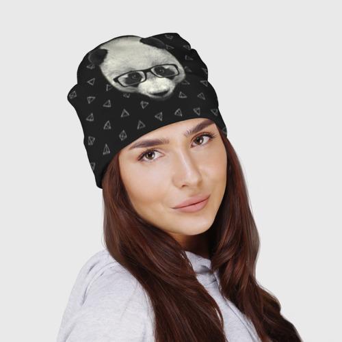 Шапка 3D  Фото 03, Умная панда