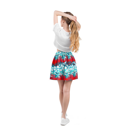 Юбка-солнце 3D  Фото 04, Tropical Fashion