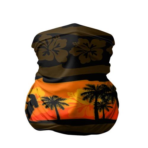 Бандана-труба 3D  Фото 01, Гавайи