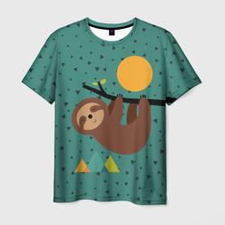 Довольный ленивец