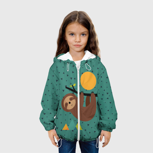 Детская куртка 3D  Фото 04, Довольный ленивец