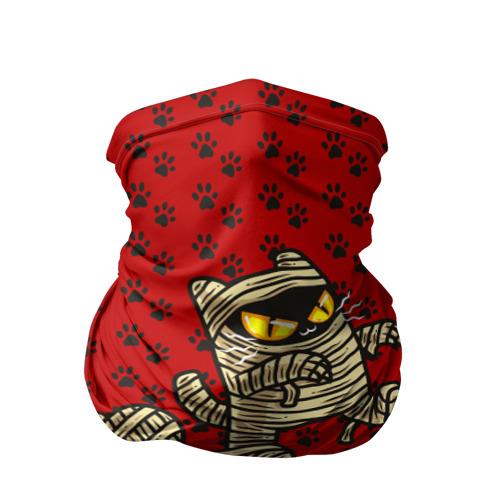 Бандана-труба 3D Кот мумия