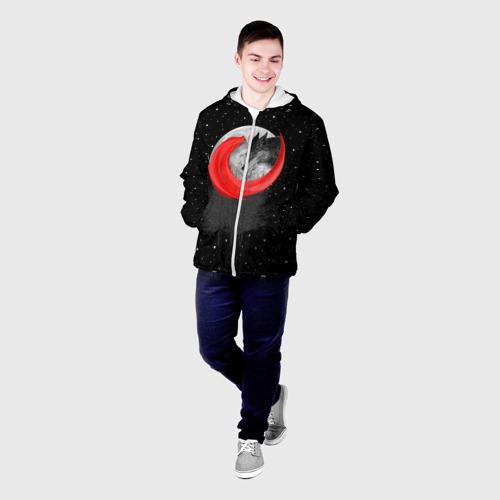 Мужская куртка 3D  Фото 03, Красная шапочка