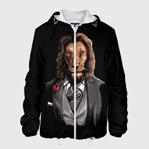 Мужская куртка 3D Мистер Лев Фото 01