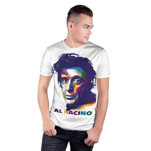Мужская футболка 3D спортивная  Фото 03, Al Pacino