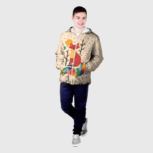 Мужская куртка 3D  Фото 03, Осенняя лисичка