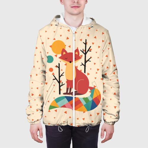 Мужская куртка 3D  Фото 04, Осенняя лисичка