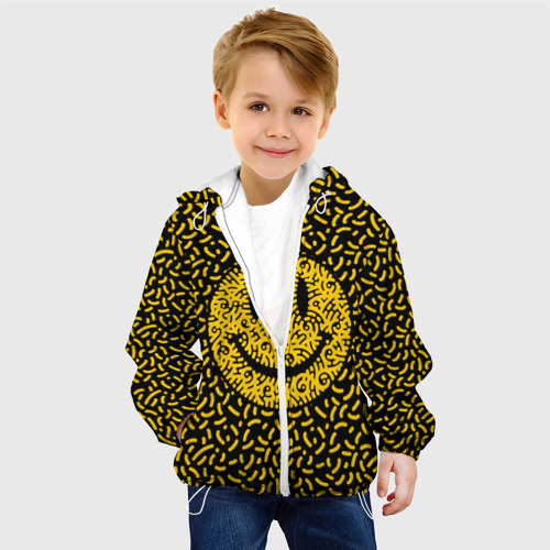 Детская куртка 3D  Фото 03, Радостный смайл