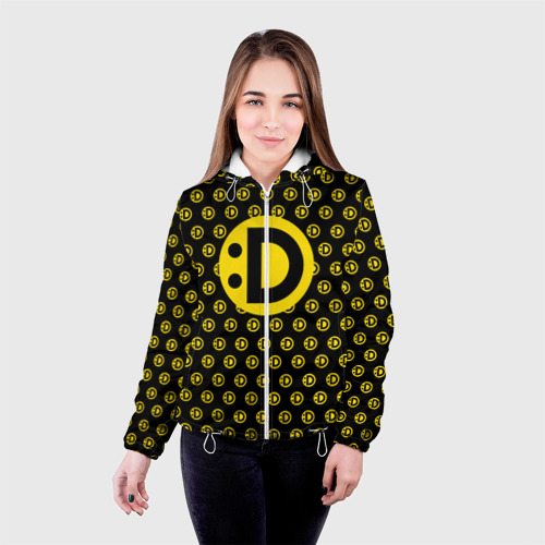 Женская куртка 3D  Фото 03, Улыбака