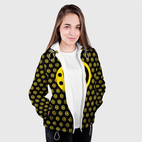 Женская куртка 3D  Фото 04, Улыбака