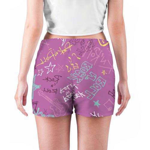 Женские шорты 3D  Фото 04, Rock'n'Roll