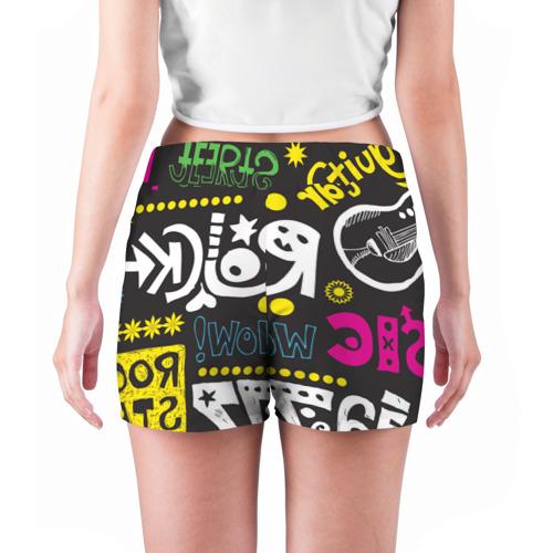 Женские шорты 3D  Фото 04, Rock