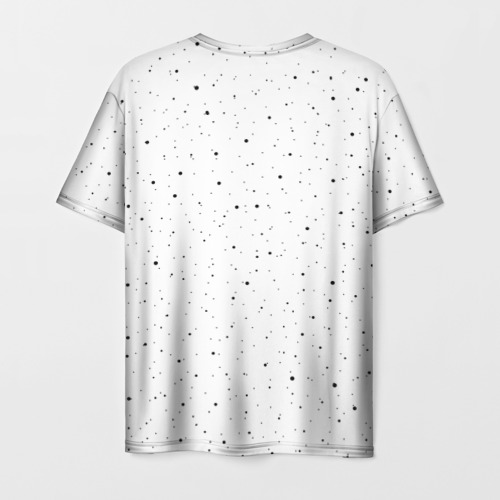 Мужская футболка 3D Единорог астронавт Фото 01