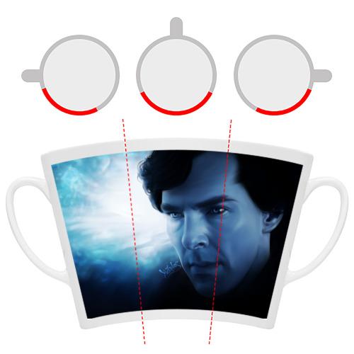 Кружка Латте Sherlock / Шерлок Холмс Фото 01
