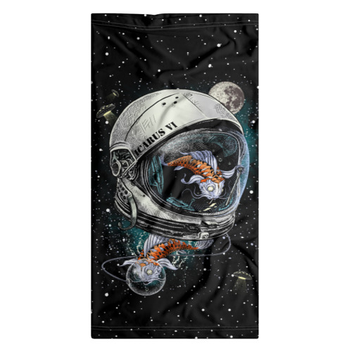 Бандана-труба 3D  Фото 07, Подводный космос