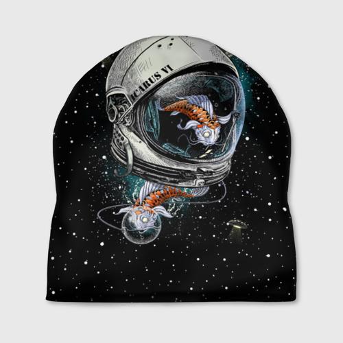 Шапка 3D  Фото 01, Подводный космос