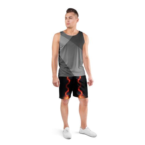 Мужские шорты 3D спортивные  Фото 04, Luxury style by VPPDGryphon