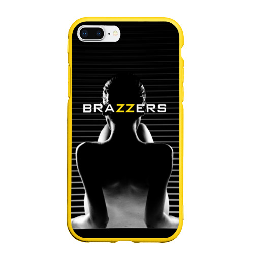 Чехол для iPhone 7Plus/8 Plus матовый Brazzers Фото 01