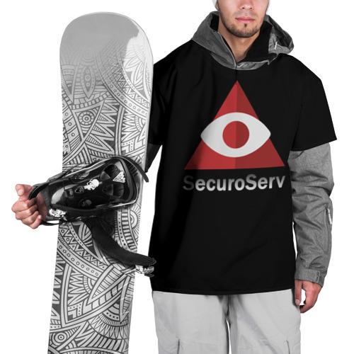 Накидка на куртку 3D  Фото 01, SecuroServ