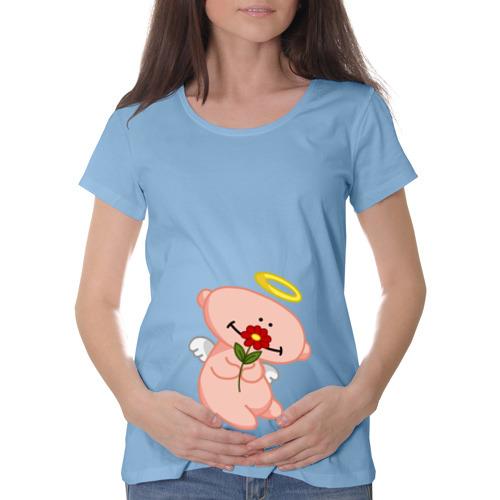 Футболка для беременных хлопок  Фото 01, Ангелок