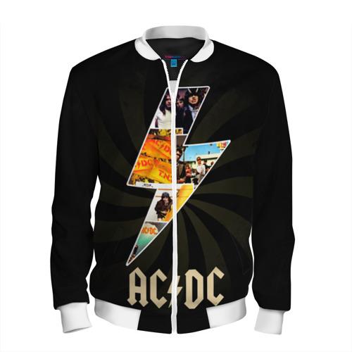 Мужской бомбер 3D  Фото 01, AC/DC 7