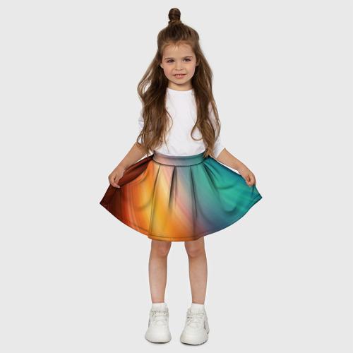 Детская юбка-солнце 3D  Фото 03, Abstraction