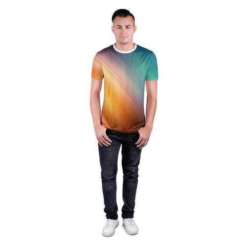 Мужская футболка 3D спортивная  Фото 04, Abstraction