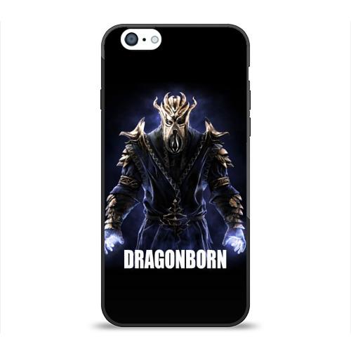 Чехол для Apple iPhone 6 силиконовый глянцевый  Фото 01, Dragonborn