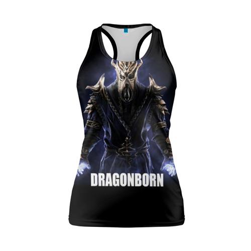 Женская майка 3D спортивная  Фото 01, Dragonborn