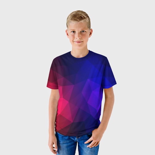 Детская футболка 3D Red&Blue