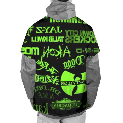 Накидка на куртку 3D  Фото 02, Hip-Hop