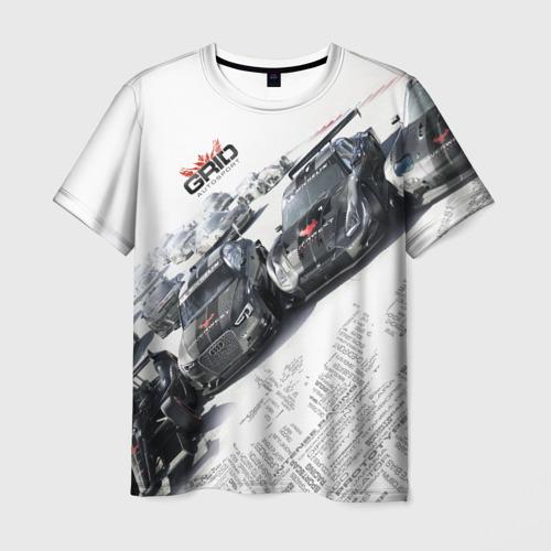 Мужская футболка 3D  Фото 03, GRID