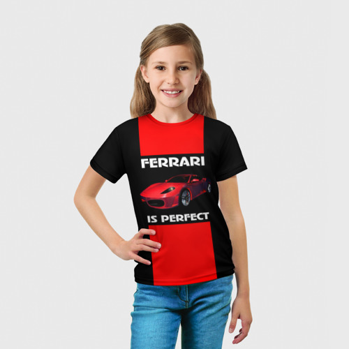 Детская футболка 3D  Фото 03, Само совершенство