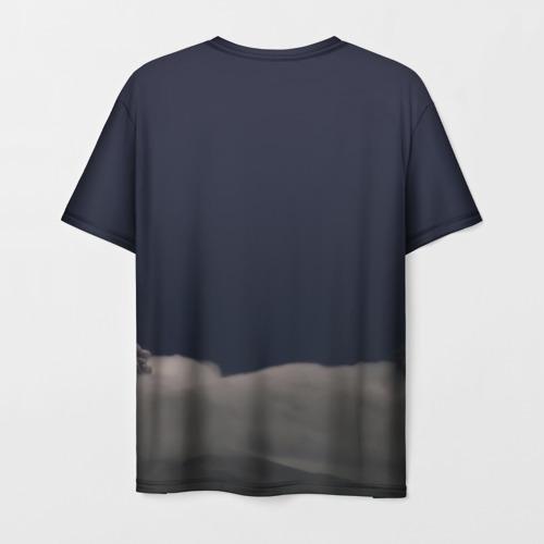Мужская футболка 3D Грозовой кошак Фото 01