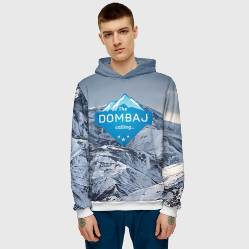 Мужская толстовка 3D  Фото 03, Домбай