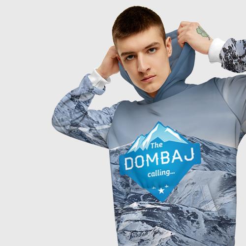 Мужская толстовка 3D  Фото 01, Домбай