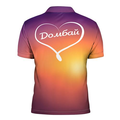 Мужская рубашка поло 3D  Фото 02, Домбай
