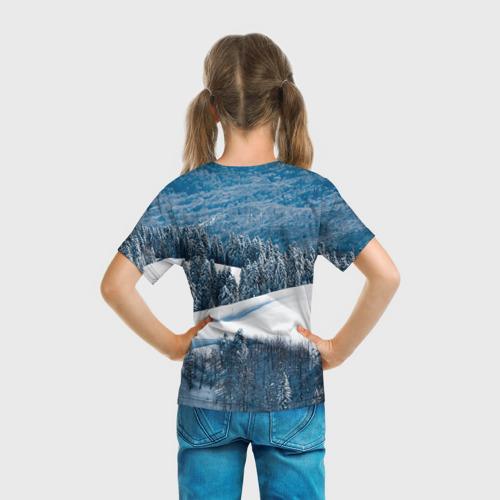 Детская футболка 3D  Фото 04, Красная поляна