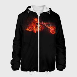 Огненный байкер