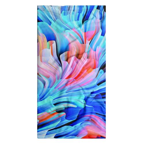 Бандана-труба 3D  Фото 07, Акварельные краски