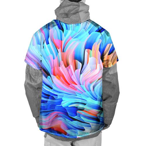 Накидка на куртку 3D  Фото 02, Акварельные краски