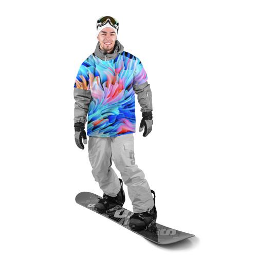 Накидка на куртку 3D  Фото 03, Акварельные краски