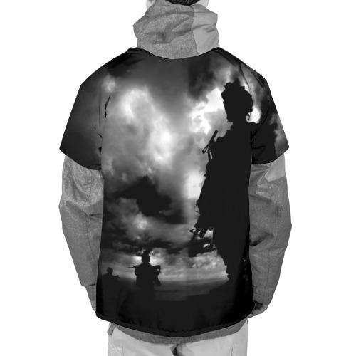 Накидка на куртку 3D  Фото 02, Служу России