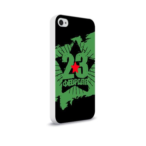 Чехол для Apple iPhone 4/4S soft-touch  Фото 02, 23 февраля